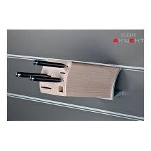 Подставка-держатель для ножей, деревянная