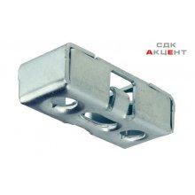 Ответная планка к стяжке металич. с винтом