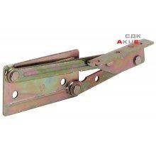 Механізм для відкидної полиці сталевий оцинкований жовтий