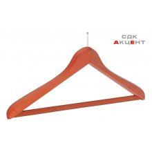 Вешалка для одежды с брючной панелью 450 мм