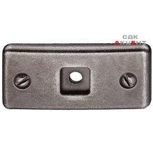 Пластина под ручку-кнопку 21x45 NM Antik
