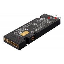 Блок питания для LED 12V/20W пластиковый черный на 6 выходов 128x50.5x14мм