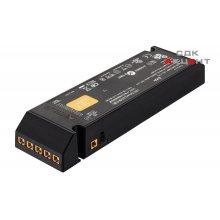 Блок питания для LED 12V/60W пластиковый черный на 6 выходов 208x56.5x30мм
