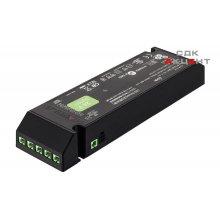 Блок питания для LED 24V/75W на 6 выходов пластиковый черный 208х56.5.30мм