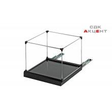 Выдвижной механизм для подвесных папок, черный 1хА4