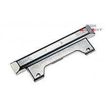 Адаптер для алюминиевых рам цамак хромированный матовый 20мм