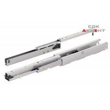 Комплект направляющих для выдвижных шкафов 550мм/75кг, белый