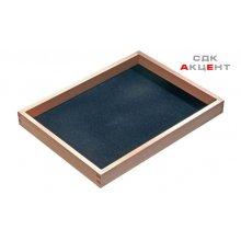 Вставка в ящик для драгоценностей 300x227x32мм деревянная