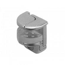 Полкодержатель с защелкой-фикс. для стекла до 12 мм