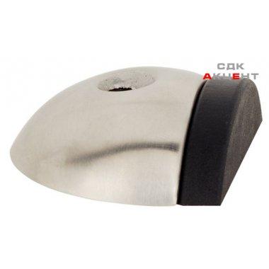 Стопор дверной покрытия нержавеющая сталь матовая 16х47мм