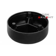 Адаптер для опоры Н 15 мм, пластмасса, черный