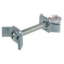 Стяжка столешницы 35 / М6х150 мм, сталь, оцикнов.
