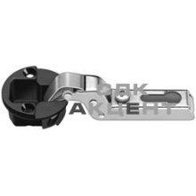 Петля METALLAMAT-MINI SL 92 для стекла стальная внутренняя